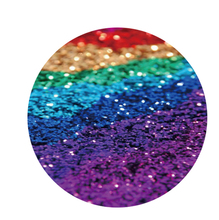 Rainbow Glitter Pop Socket