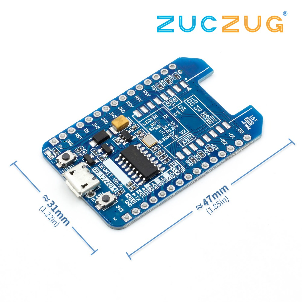 <font><b>ESP8266</b></font> ESP-12E ESP-12F CH340 CH340G WIFI Internet of Things <font><b>Adapter</b></font> Plate Compatible NodeMcu Lua Development <font><b>Board</b></font> image