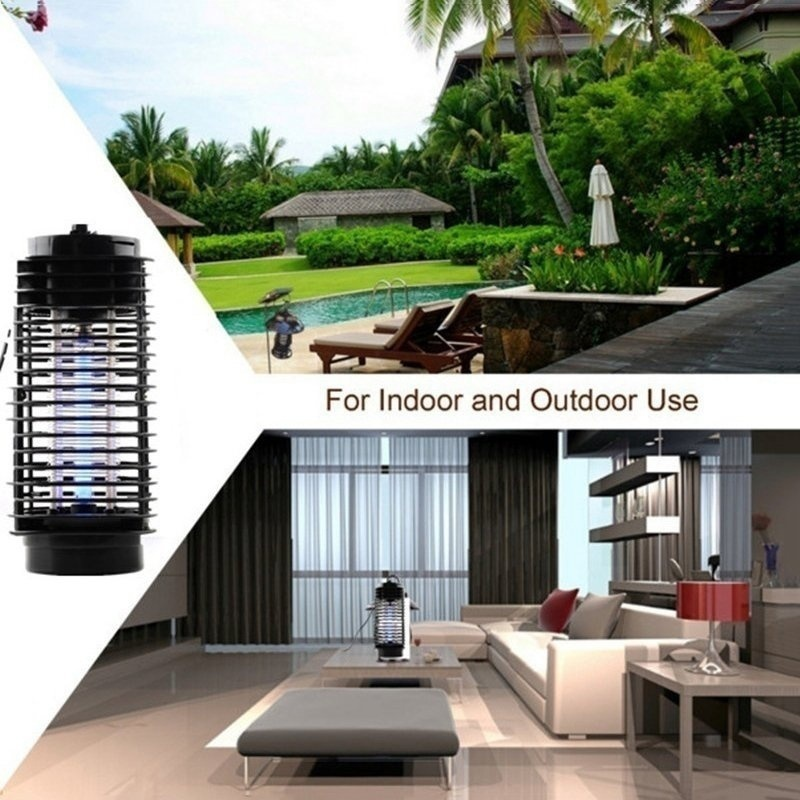 Image 4 - New Super Trap Electric Photocatalyst Mosquito Pest Fly Bug Insect Wasp Killer Mosquito Repellent Night Lamp LED US/EU Plug-in Traps from Home & Garden