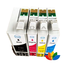 COAAP 4PK Compatible ink cartridges For Epson T1301 T1302 T1303 T1304