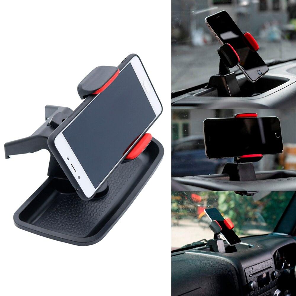 Dash Multi-Mount GPS Phone Bracket Kit Cell Phone Holder For Jeep Wrangler JK 2007-2017