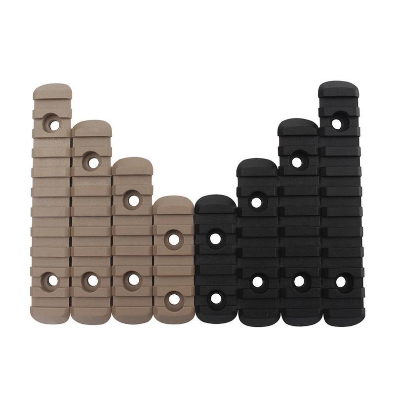 4 teile/satz Taktische Airsoft Polymer Picatinny Weaver Schiene M-lok Für MOE Handschutz Laser Scope Jagd Zubehör