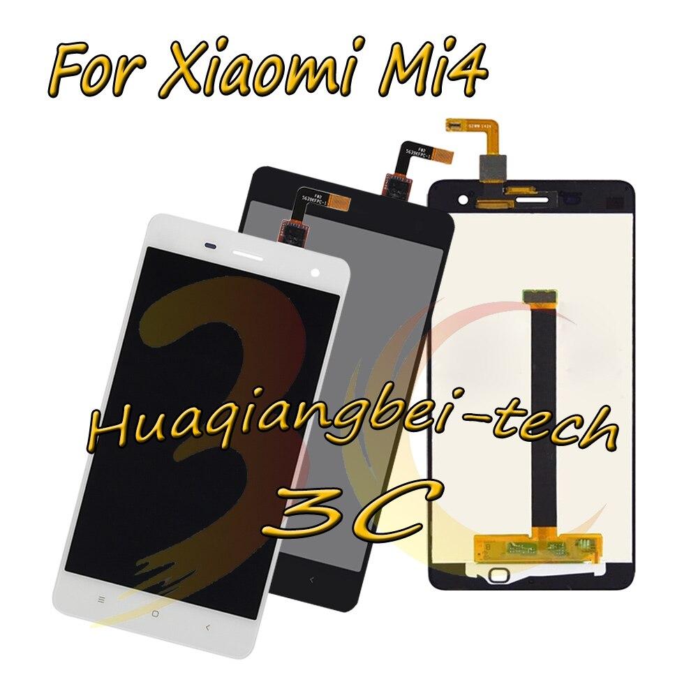 5.0 ''Nouveau Noir/Blanc Pour Xiao mi mi 4 M4 mi 4 LCD Full DIsplay + Écran Tactile digitizer Assemblée 100% Testé + de Suivi