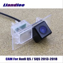 Liandlee CAM Car Rearview Reverse Parking Camera For Audi Q5 / SQ5 2013-2018 / Rear View Backup Camera HD CCD Night Vision