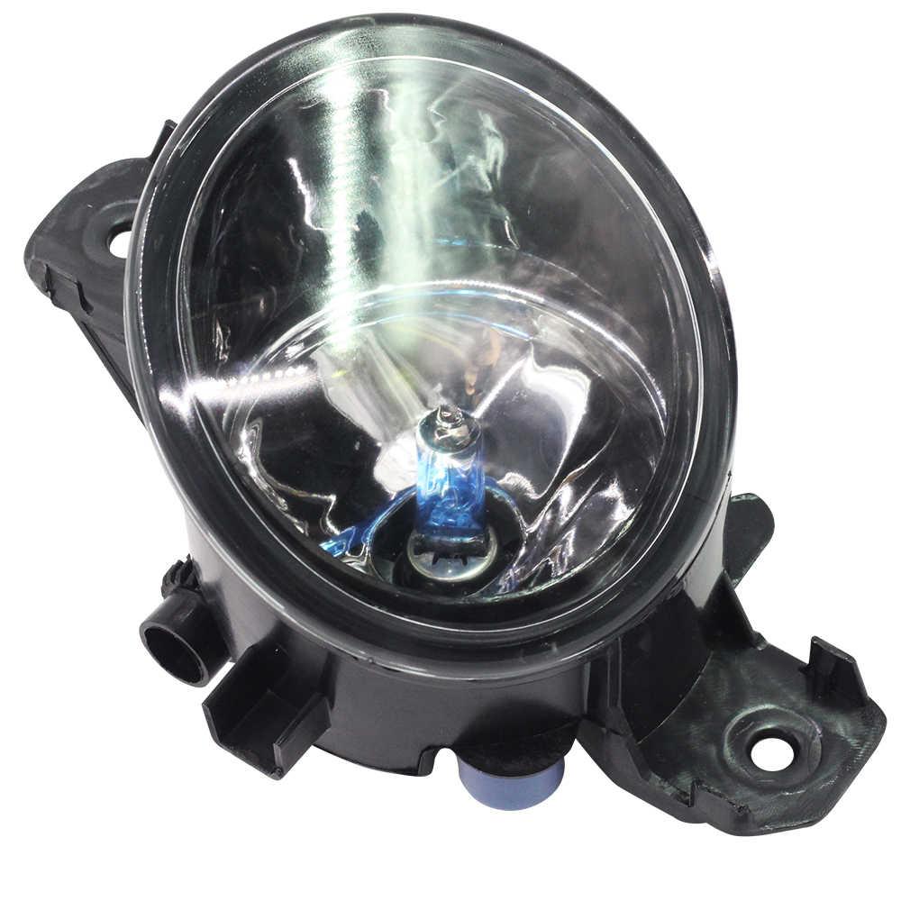 Cawanerl 2 Pieces H11 100W Car Styling Halogen Fog Light Daytime Running Lamp DRL 12V High Power For Renault Laguna 2001-2015