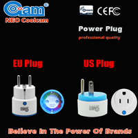 Home Automation Z wave Plus Sensor Smart Home Power Plug Socket EU/US Power outlet Adapter Compatible Z wave 300 and 500 series