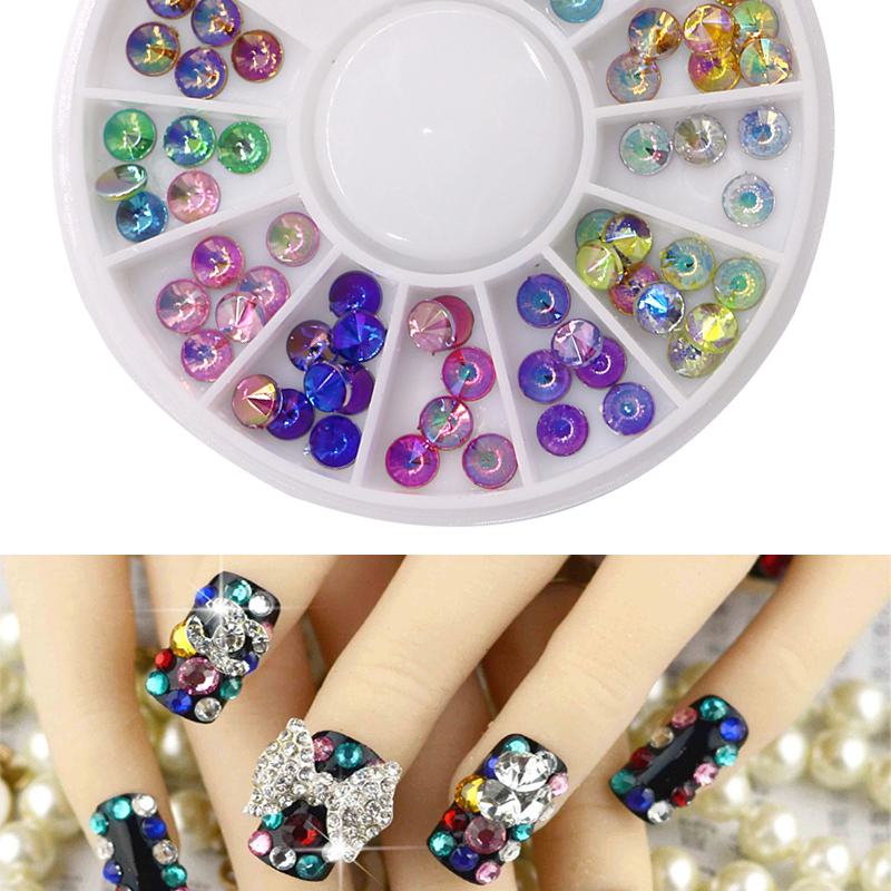 №1Pcs Nail Supplies DIY Nail Art Glitter 3D Decorations Acrylic ...