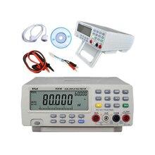 1 pcs Vici VICHY VC8145 DMM Numérique Banc Multimètre Température Testeur PC Analogique 80000 compte Graphique à Barres Analogique