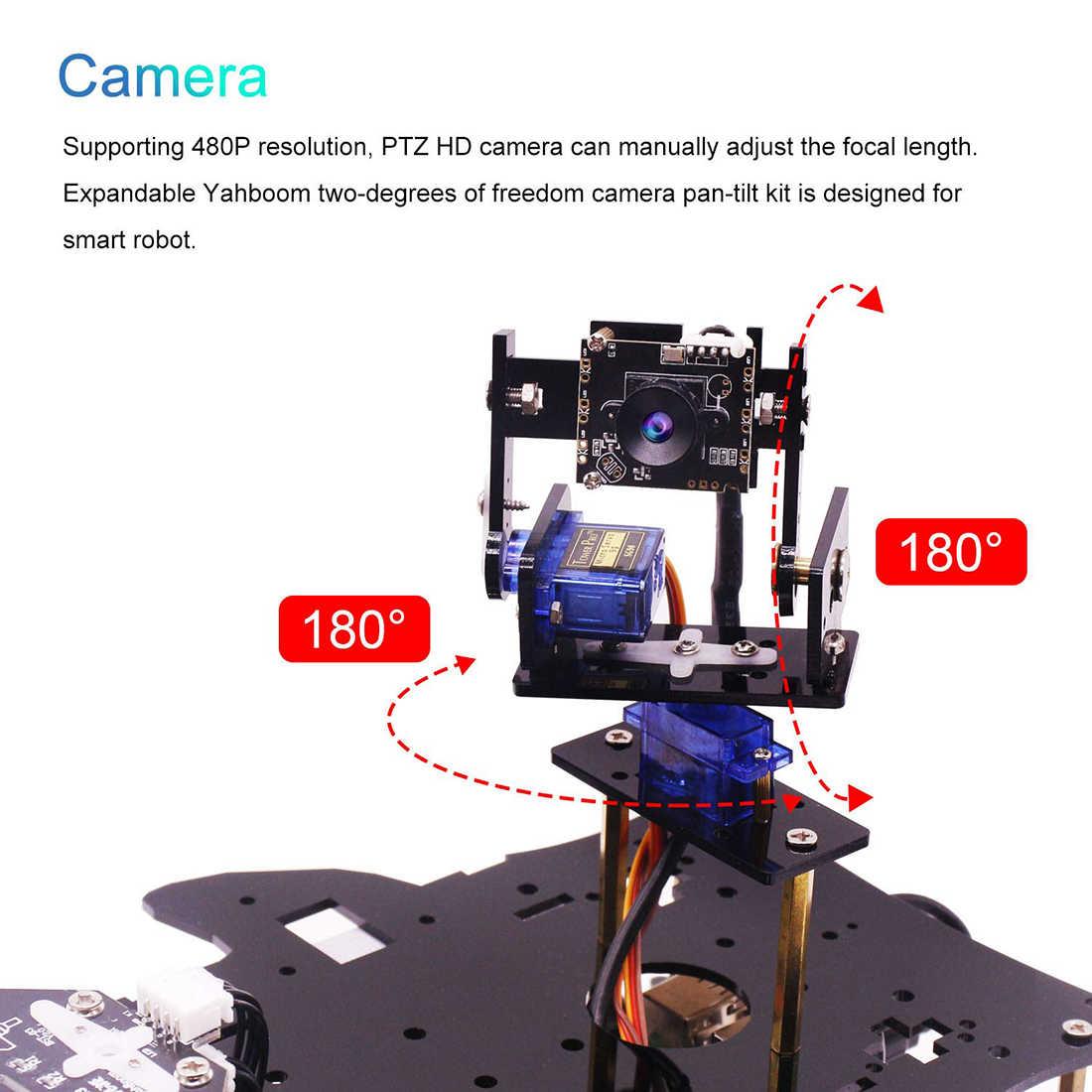 Конечный стартовый набор для Raspberry Pi 3 B + HD камера программируемый умный робот автомобильный комплект с 4WD электронная обучающая игрушка для подростков