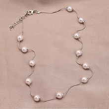 Cheap Fake Pearl Necklaces For Wedding Gifts