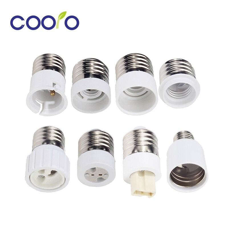 to GU10 10 x E27 Female Light Bulb Adapter Male