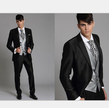 Silver And Black Prom Suit | My Dress Tip