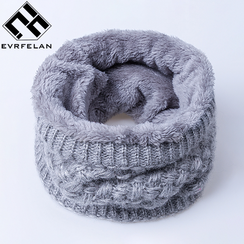 2019 New Fashion Winter Scarf For Women Scarf Warm Soft & Comfortable Boys&Girls Thickening Ring Scarf Adult Winter