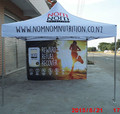 3x3m(10x10ft) Folding tent Waterproof pop up tent with custom printing,Dye Sublimation Printing Tent Top