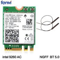Dual Band Wireless AC 9260 For Intel 9260NGW NGFF 802 11ac MU MIMO 1730Mbps 1 73Gbps