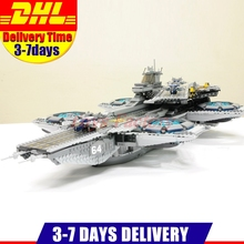 2017 New DHL 3057pcs LEPIN 07043 Super Heroes The SHIELD Helicarrier Model Building Kits Blocks Bricks