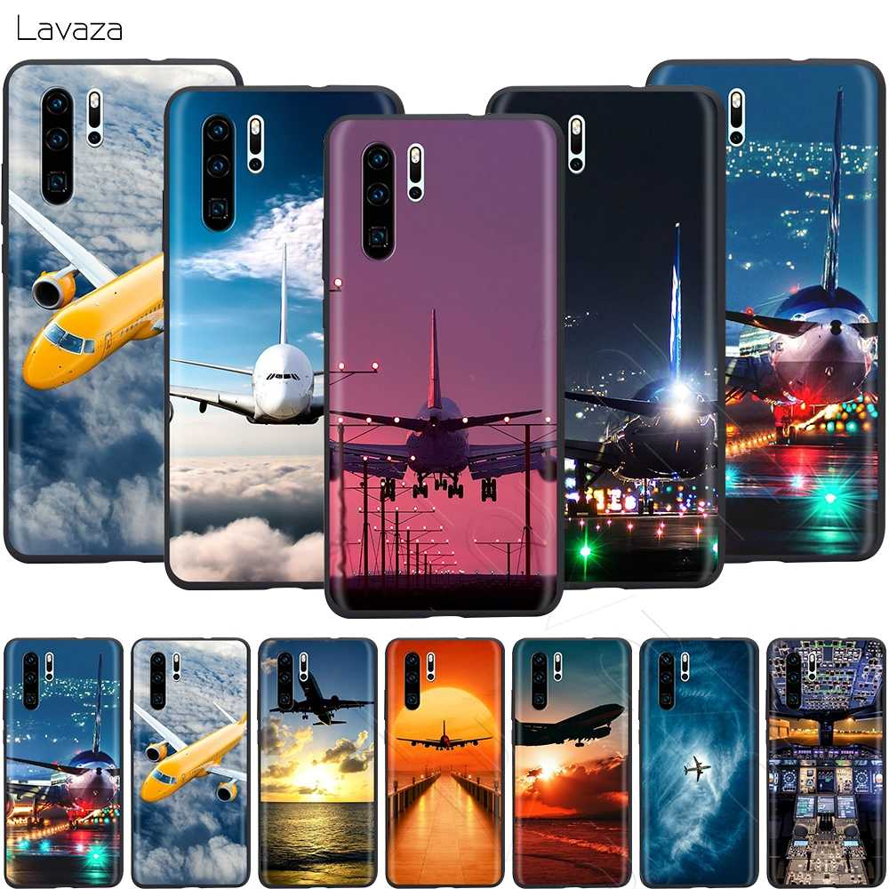 Lavaza Aircraft Airplane Fly Travel Cloud Plane Case for Huawei Mate 30 20 Honor 6a 7a 7c 7x 8C 8x 9 10 Nova 3i 3 Lite Pro Y6