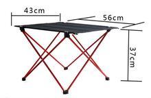 Портативный стол для пикника Уличные столы Алюминий сплав складной сад стол