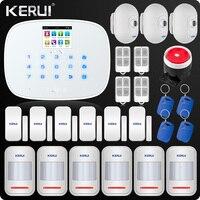 W193 Alarm 3G GSM WIFI PSTN Home Burglar LCD GSM SMS Alarm Panel Home Security Alarm System