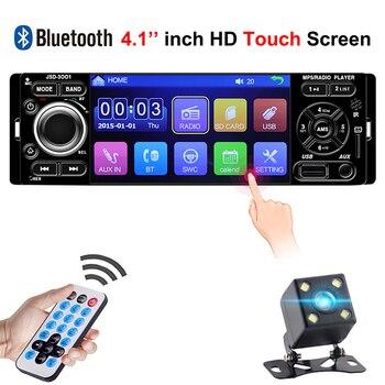 Auto Zentrale Multimidia Multimedia Auto 1Din Eine 1 Din 4,1 ''HD Touchscreen Bluetooth Radio MP3 MP5 Musik Video player Autoradio