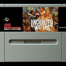 16Bit игры* Uncharted Waters 1(PAL EUR версия! Английский язык