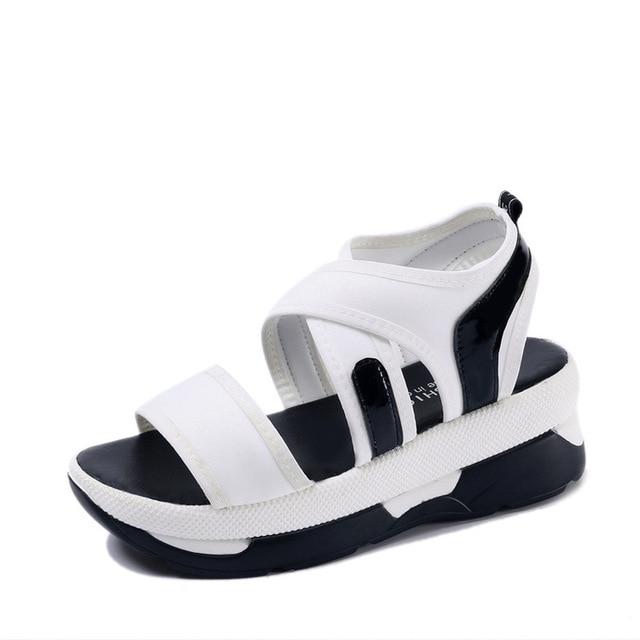 Verano 2017 Sandalias De El Zapatos Mujeres Moda Romano jAqRc5S43L