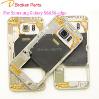 IBrokenparts OEM Middle Frame For Samsung Galaxy S6 G920 G920F S6 Edge G925 G925F Middle Bezel