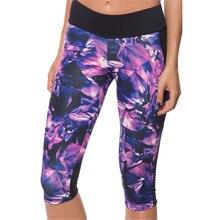 Sportswear Women Slim Fashion Digital 3D Printed Capris Calf-length Pants Stretchy Women's Tattoo Sportswear Pants