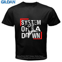 Cheap Price 100 Cotton Gildan Crew Neck New Style Soad System Of A Down Rock Band