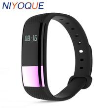 NIYOQUE M4 Sport Smart Bracelet Heart Rate Blood oxygen Monitor Sleep Tracker Call Reminder Waterproof Smart band