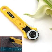 28mm accesorios de costura cortador de tela de cuero artesanía Circular cortador rotatorio cuchilla DIY herramientas de costura para Patchwork AA7761