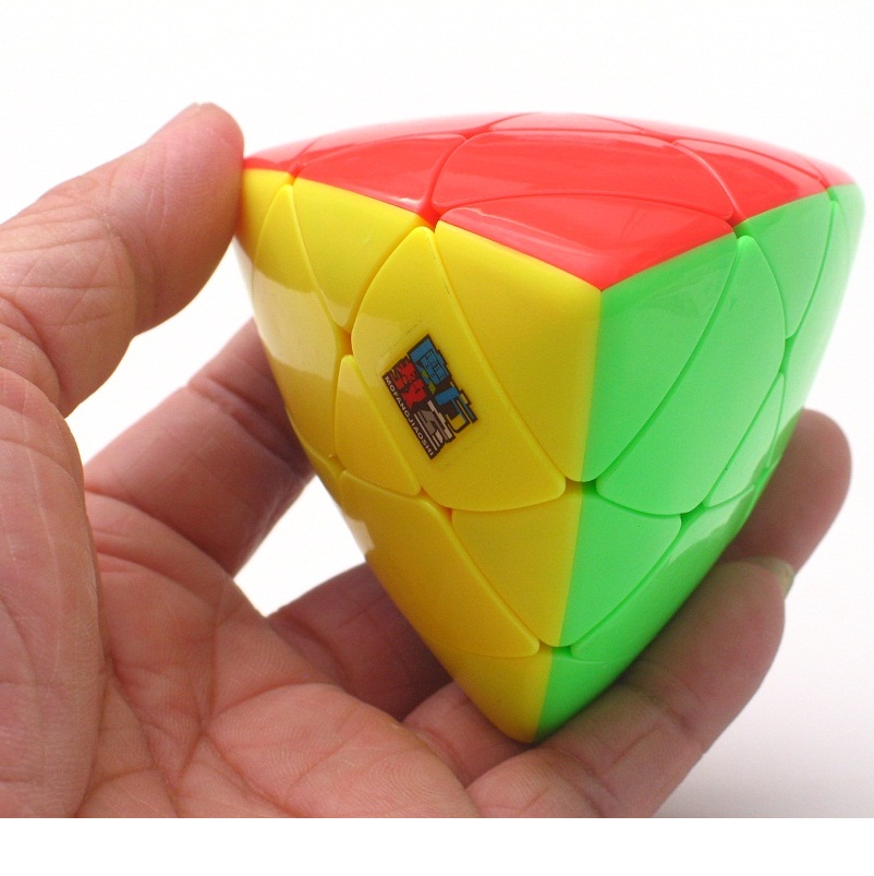 Moyu MoFangJiaoShi Meilong 3x3 Mastermorphix Stickerless Colorful Puzzle 3x3x3 Speed Cube Magic Puzzle Toys For Kids DropShip