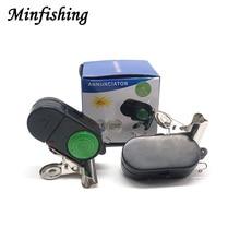 Minfishing 10 PCS Fishing Alarm Fish Bite Alarm Length 6cm Bell with Strong Clip Fishing Tool for Sea Fishing