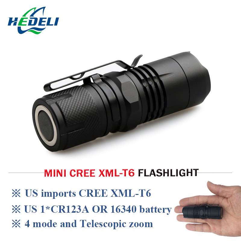 Led Lighting Portable Mini Zoom Flashlight Xml T6 Rechargeable Torch Flashlight Lantern Led Zaklamp Lampe Torche Hand Lamp With Strong Magnet Discounts Price