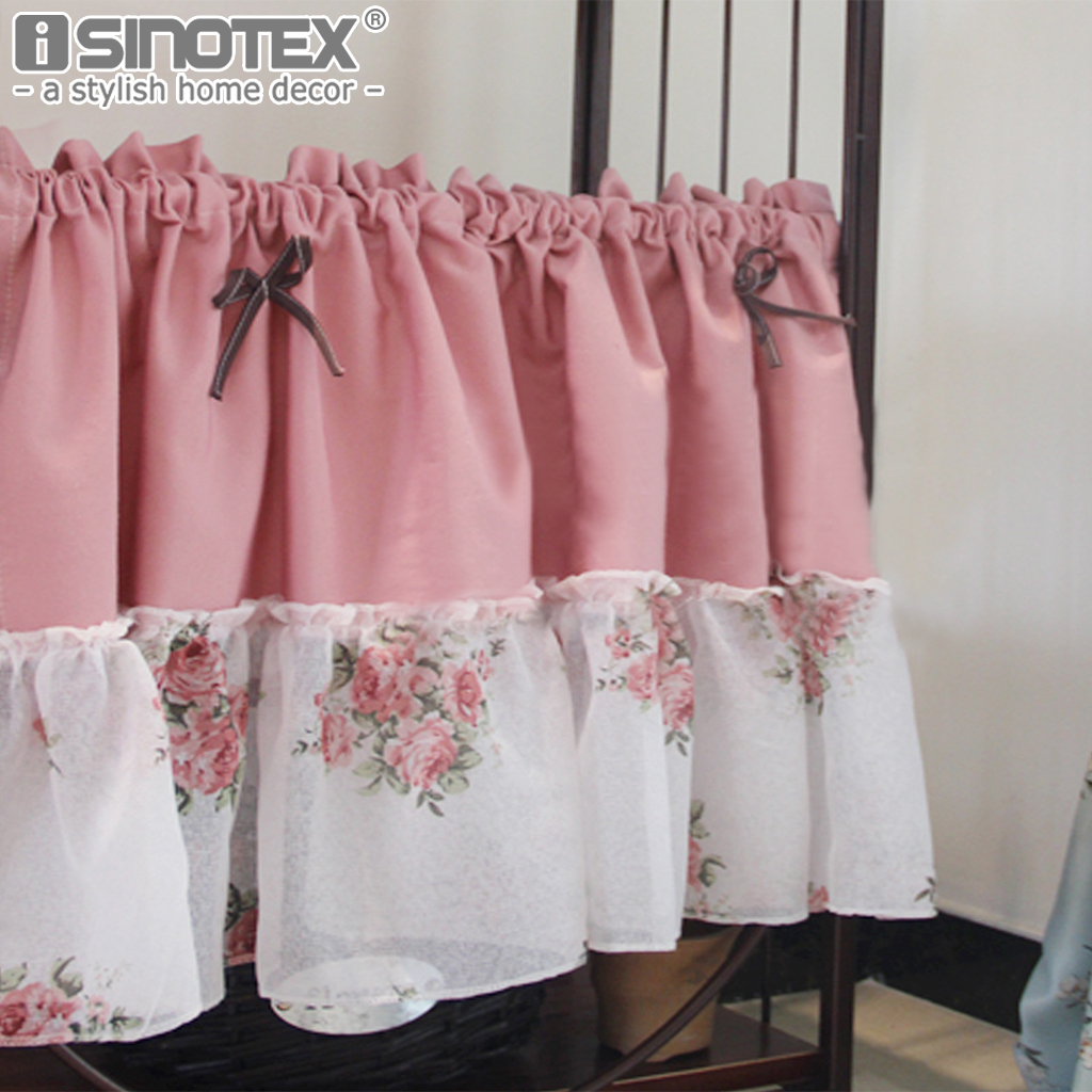 popular pink cafe curtains-buy cheap pink cafe curtains lots from