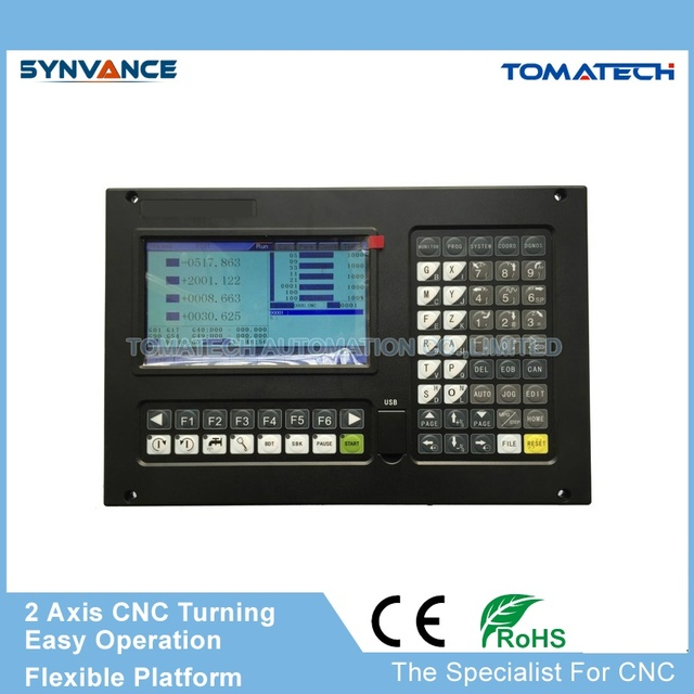 High performance CNC4620 2 axis CNC turning machine lahe controller with MPG