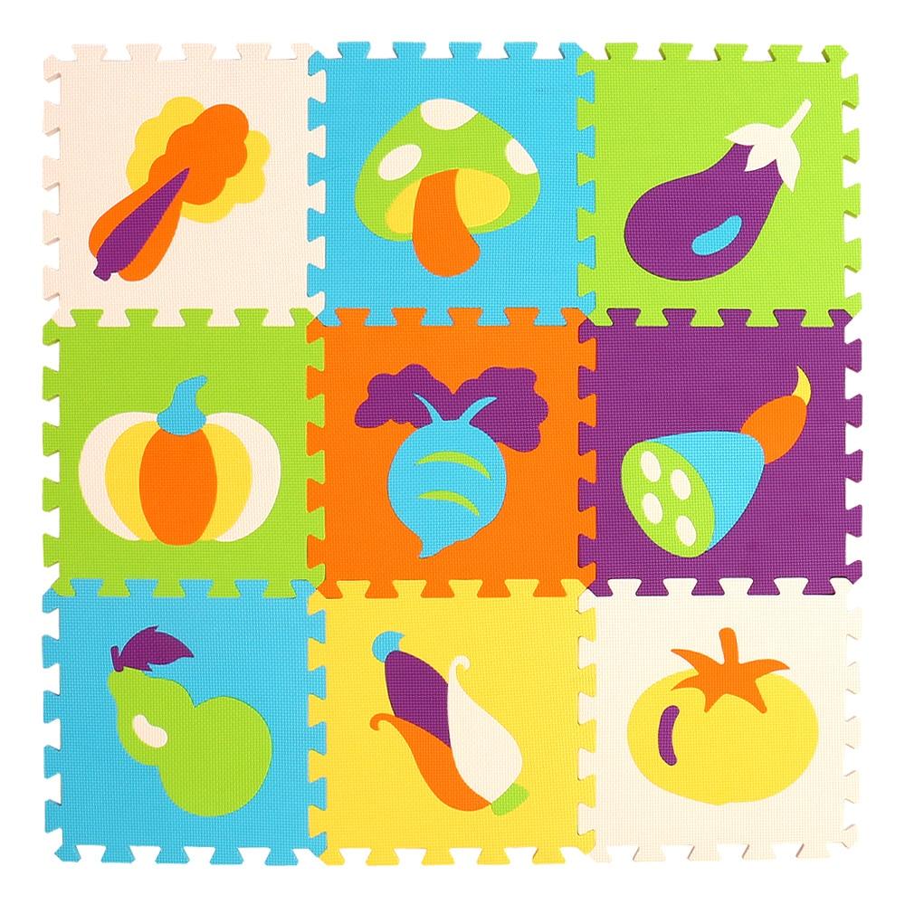 mei qi cool 9pcs/set baby play EVA foam puzzle mat /Cartoon EVA foam pad / Interlocking Mats for kids playmat