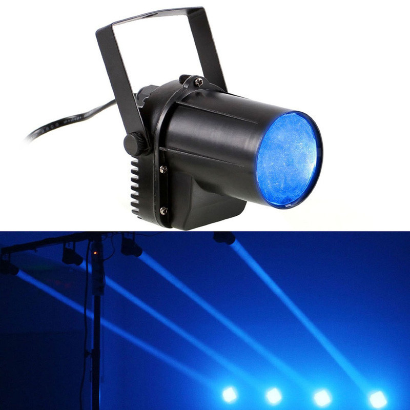 fashion 3w blue led beam dance party led dj stage light bar spin light pinspot lights laser. Black Bedroom Furniture Sets. Home Design Ideas