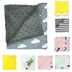 80 75cm baby blanket newborn baby swaddle wrap super soft baby bedding stroller crib minky blankets.jpg 250x250