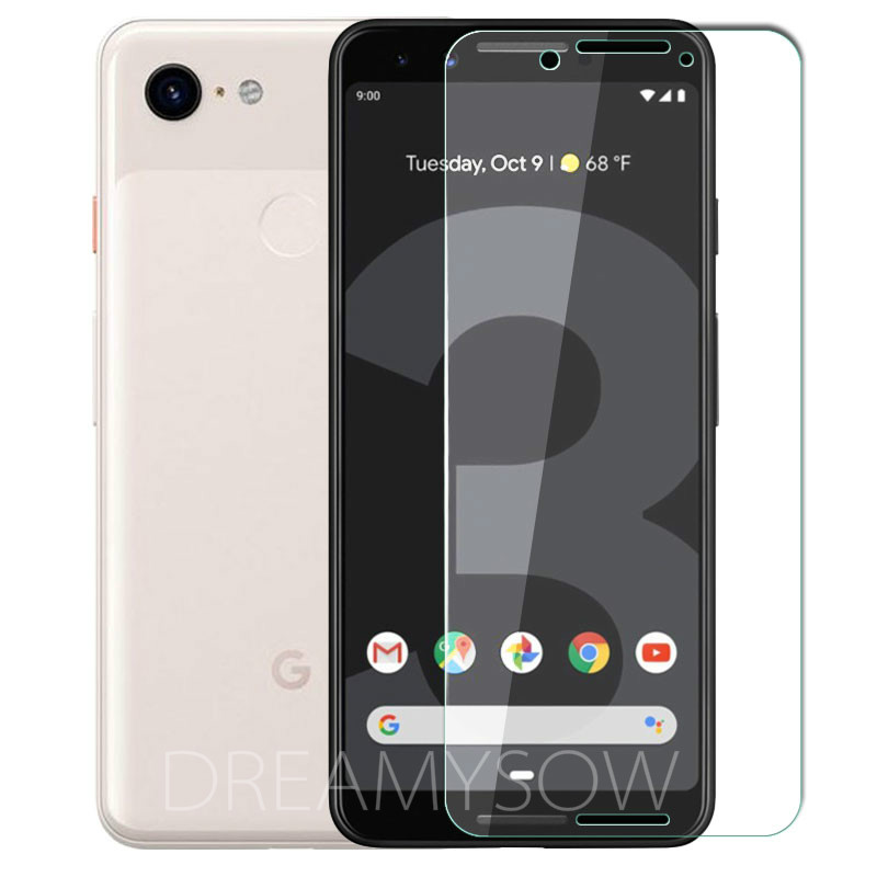 2.5D Ultrathin Tempered Glass Film For LG Google Pixel 4 4XL 2 3 3A Glass For 2XL 3XL 3A XL Pixel 3 Lite Screen Protector Film 1