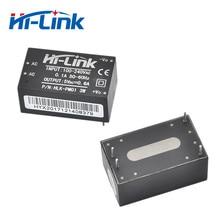 จัดส่งฟรี 2 ชิ้น/ล็อตต่ำราคา AC DC 220 V to 5 V mini ขนาดกะทัดรัด switching power supply HLK PM01
