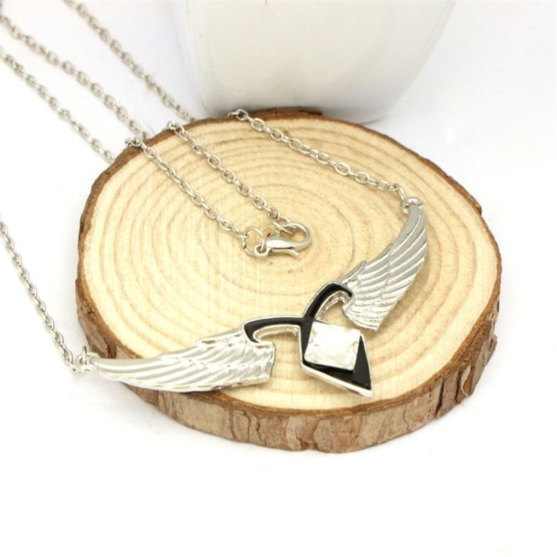 Mortal Instruments Angels Force Pendant Necklace
