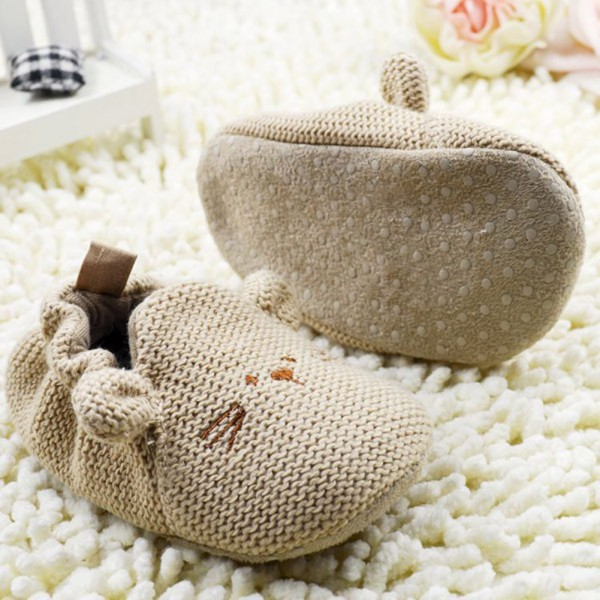 Baby Knit Soft Crib Shoes 1