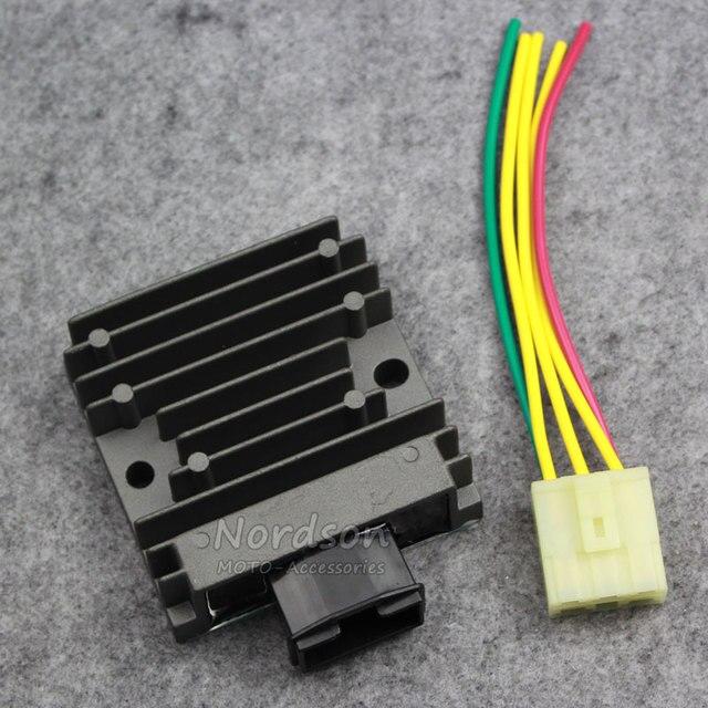 Metal motocicleta voltage regulator retificador para honda cb300 cbr300 cbr300r 14-15-16 novo