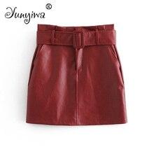 d767bf183 Compra leatherette skirt y disfruta del envío gratuito en AliExpress.com