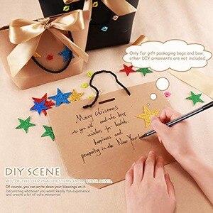 Image 5 - Emballages boîtes cadeaux poignée or 10 pièces