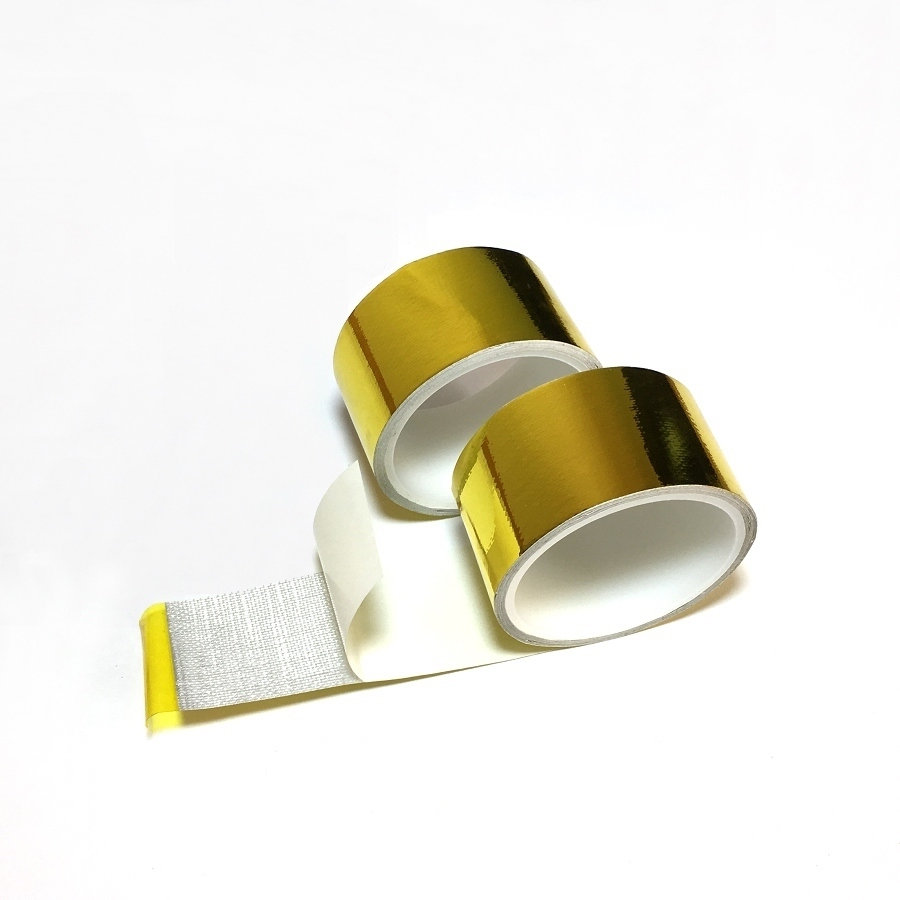 2''x33 'Roll Reflect- A- Gold Tape High Performance Reflective Heat - Reservdelar och bildelar