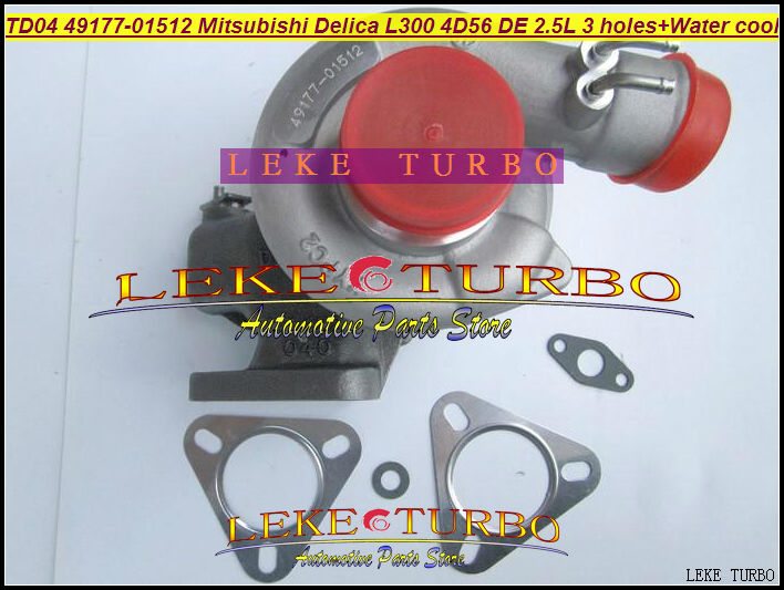 TD04-10T 49177-01512 49177 01512 4917701512 Turbo Turbocharger For Mitsubishi Delica L300 4D56 DE 2.5L ( 3 hole + Water cooled ) мой маленький пони превращение бури