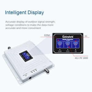 Image 3 - Lintratek 2G 3G 4G Tri Band Cellular Signal Repeater GSM 900 1800 2100 DCS WCDMA Signal Booster Cellphone Amplifier GSM 3G 4G @5