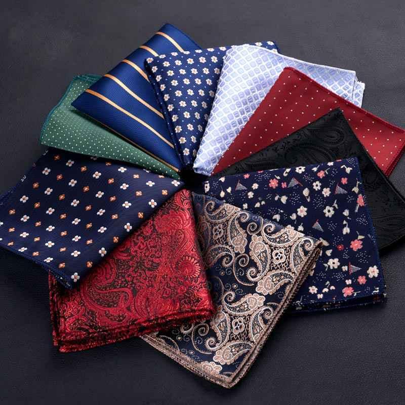 Toalla cuadrada de poliéster pañuelo de banquete de boda de moda traje de caballero pañuelo de bolsillo GDD99